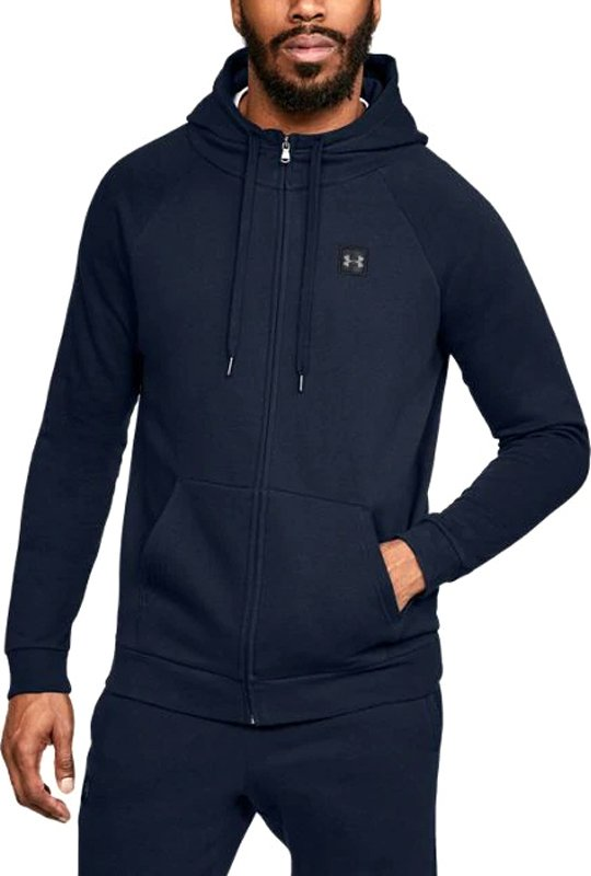 Hanorac cu gluga Under Armour RIVAL FLEECE FZ HOODIE