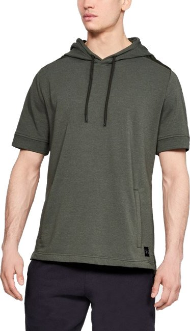 Hanorac cu gluga Under Armour MICROTHREAD TERRY SS HOODIE
