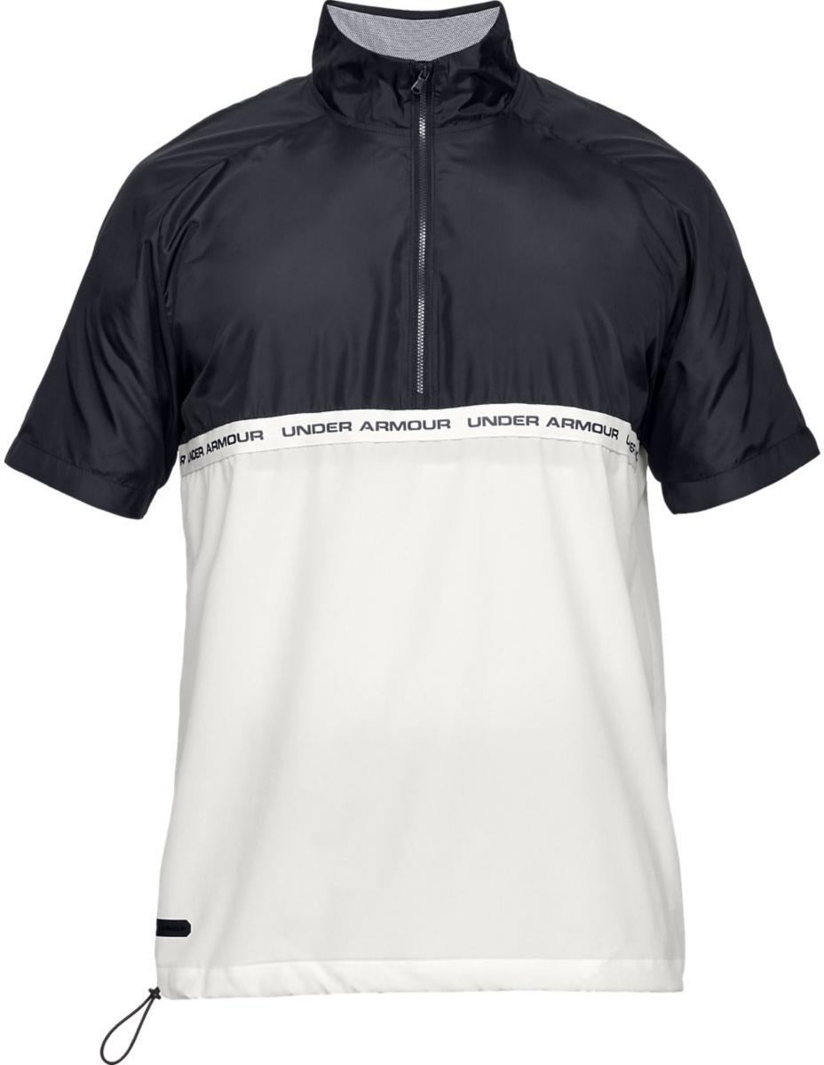 Tricou Under Armour UNSTOPPABLE WOVEN 1/2 ZIP SS