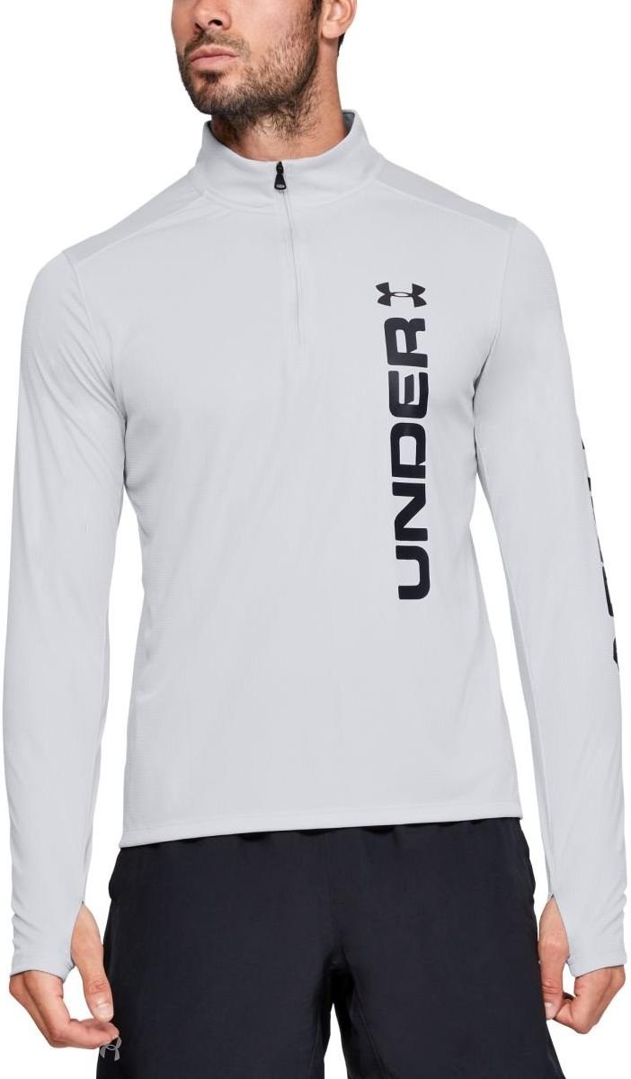 Tricou cu maneca lunga Under Armour UA SPEED STRIDE SPLIT 1/4 ZIP