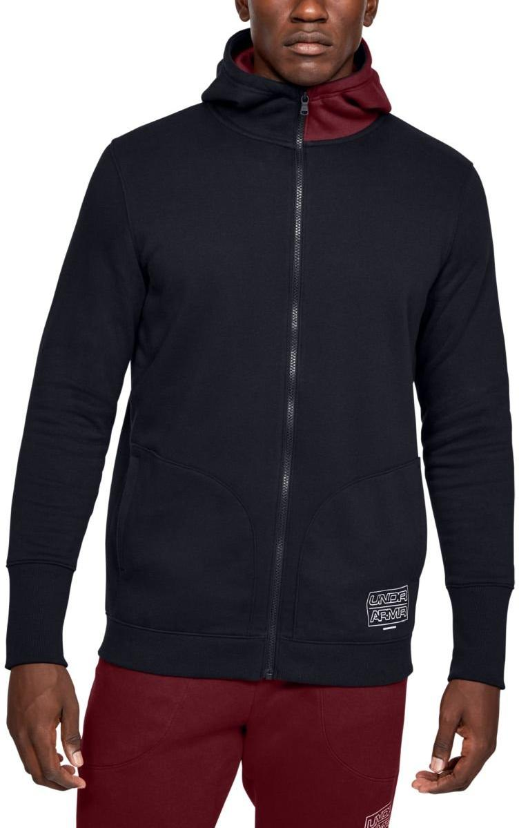 Hanorac cu gluga Under Armour UA BASELINE FLEECE FZ HOOD