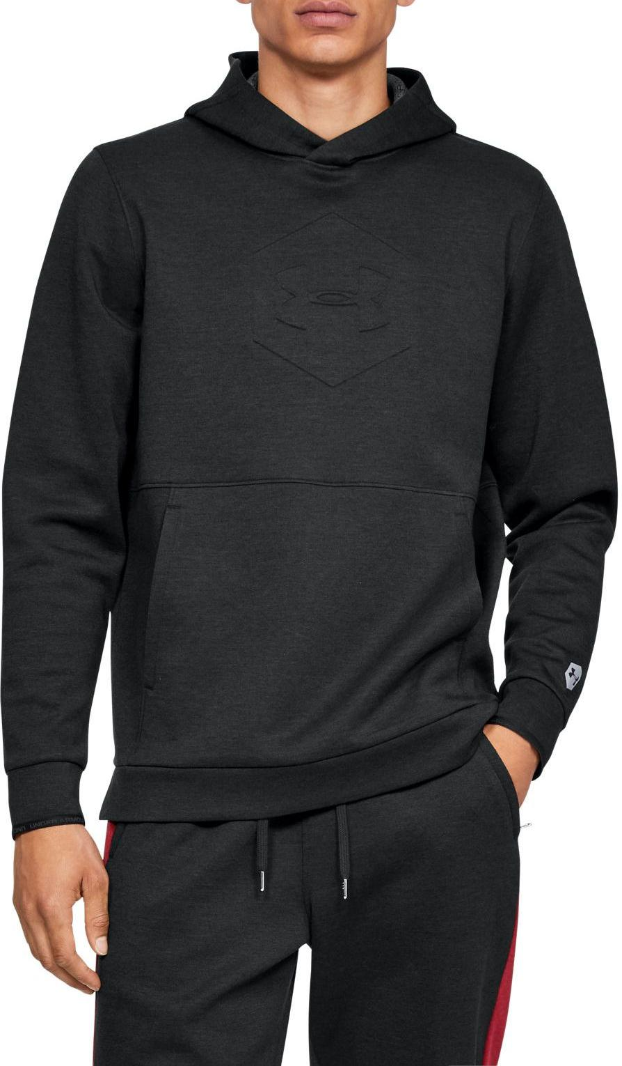 Hanorac cu gluga Under Armour Athlete Recovery Fleece Graphic Hoodie