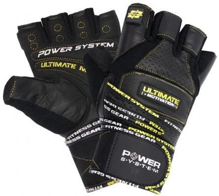 Manusi Power System POWER SYSTEM-GLOVES ULTIMATE MOTIVATION-YELLOW