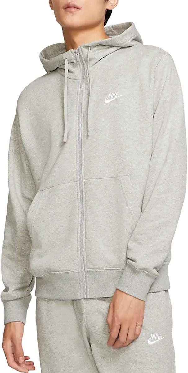 Hanorac cu gluga Nike M NSW CLUB HOODIE FZ FT