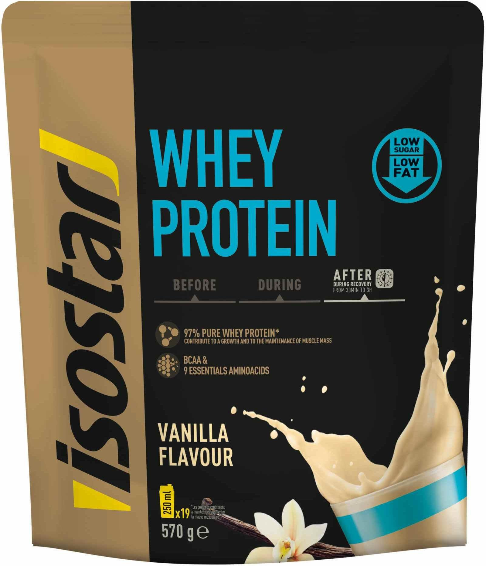 Pudra Isostar Isostar 570g Whey Protein BCAA (DOY PACK)
